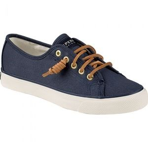 Sperry Seacost Canvas Sneaker Blue Size 7M